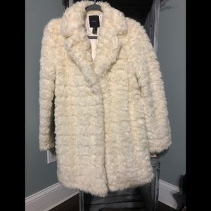 Forever 21 Faux Fur Coat Like Brand New